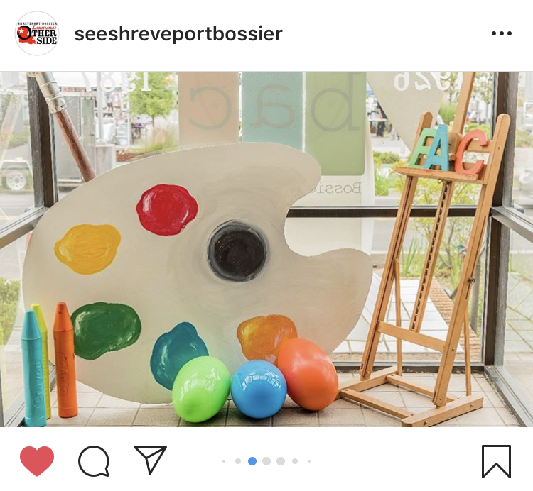 Donna Chance Hall shared photos of local art galleries and museums on the @SeeShreveportBossier Instagram account during the month of May.