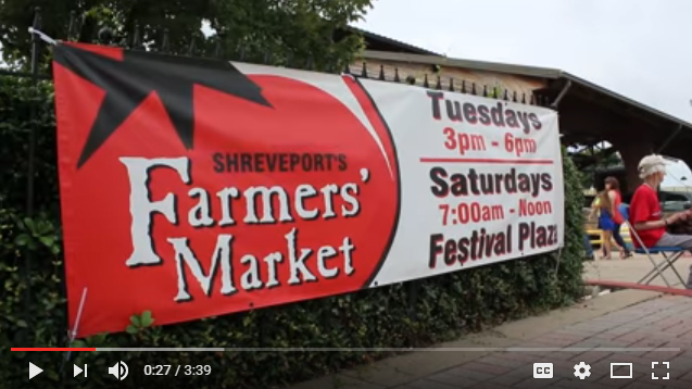 Farmers' Markets in Shreveport and Bossier City