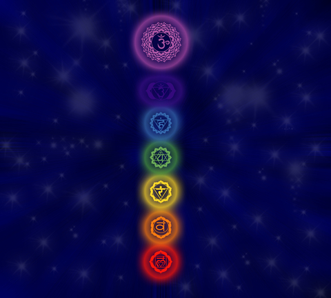 chakra symbols and colors