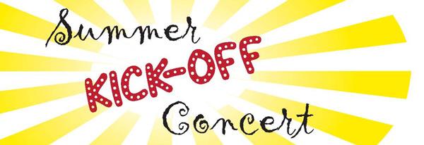 Summer Kick off Concert graphic
