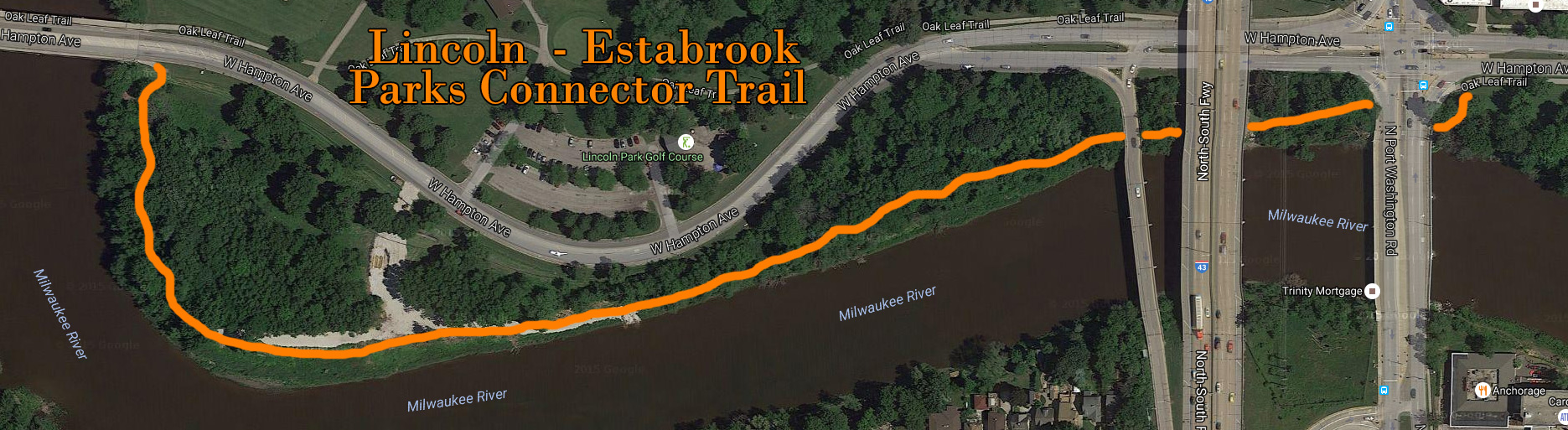 Connector Trail Map