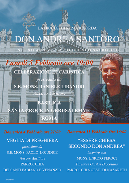 Celebrazioni XII Anniversario don Andrea