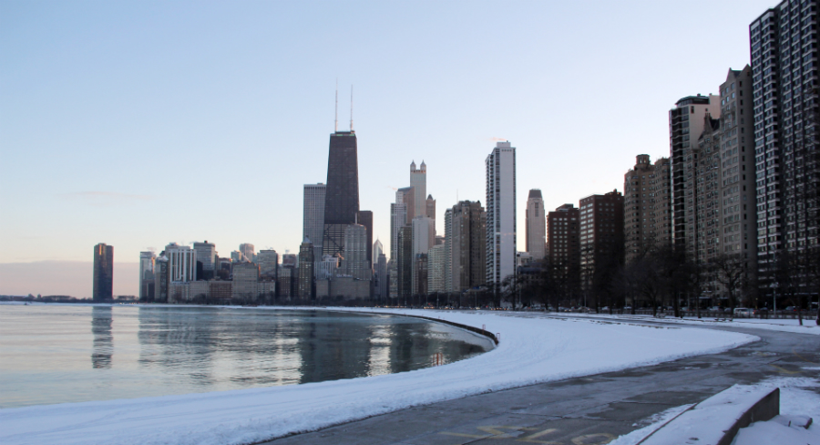 Fall Chicago skyline!