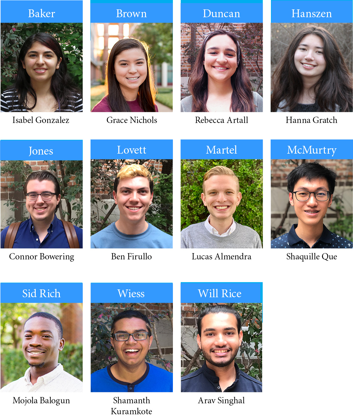 Photos of the OIT College Ambassadors