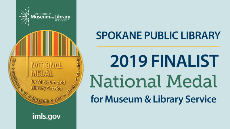 Spokane Public Library named National Medal for Museum and Library Service Finalist