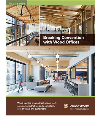 Breaking Convention with Wood Offices