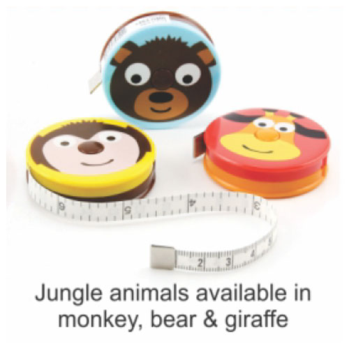 Animal Tape Measures - $2 each!
