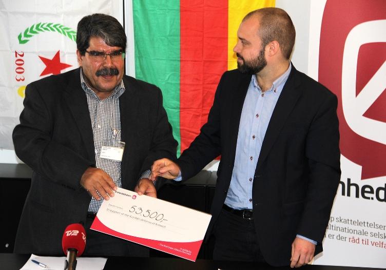 Indsamling til kurdere - DYP