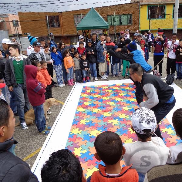 Den sociale platform i Usme, Bogota