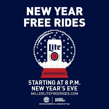 Miller Lite Free Rides
