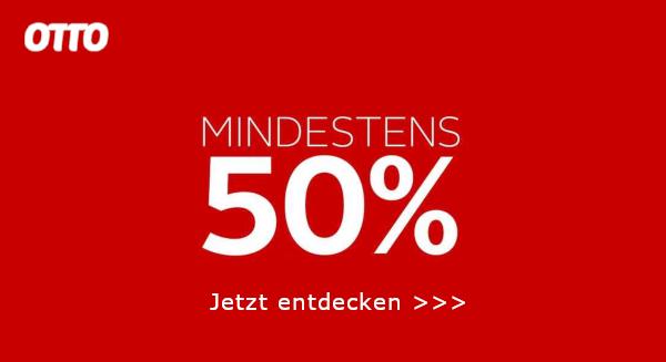 OTTO: Mindestens 50% SALE