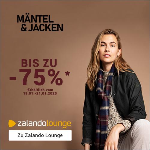 JACKEN & MÄNTEL bis -75% bei ZALANDO Lounge