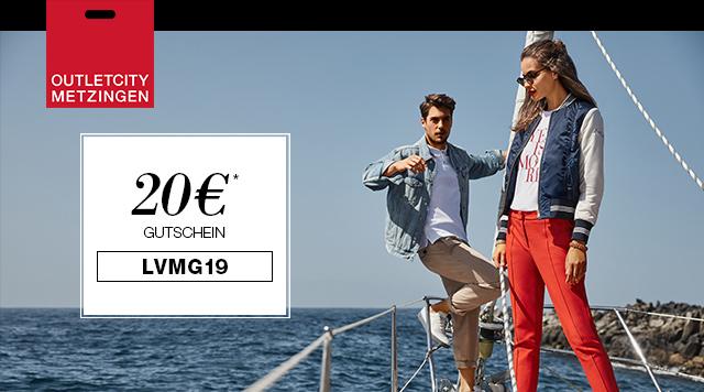Shoppen Sie Top-Marken bereits bis zu 70% reduziert und erhalten Sie zusätzlich 20€ mit dem Code: LVMG19
