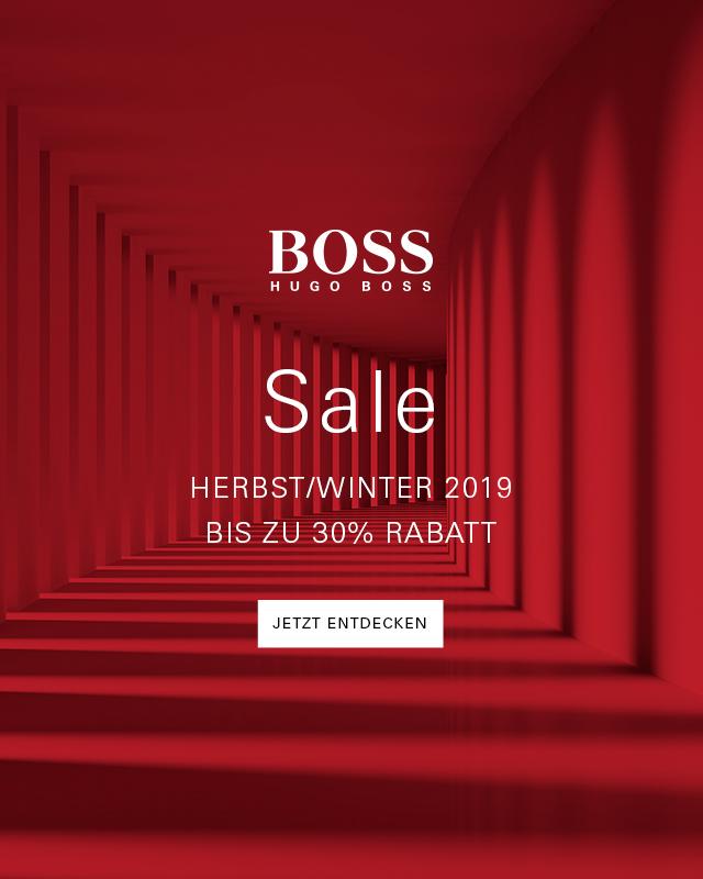 HUGO BOSS: bis -30% im Herbst/Winter-SALE