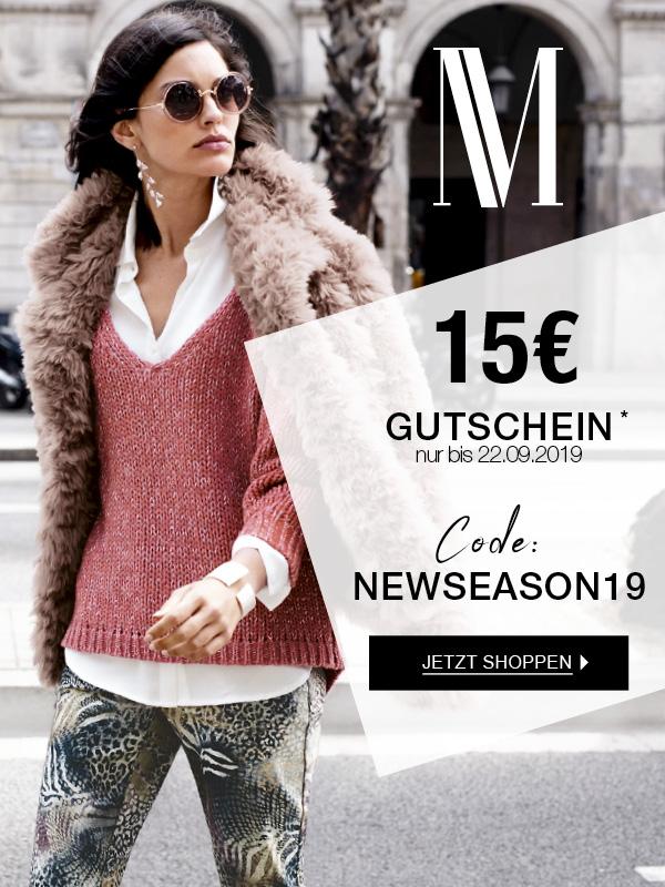 MADELEINE: 15€ Gutschein - nur bis 22.09.2019
