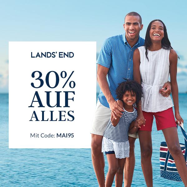 LANDS' END -30 Prozent auf ALLES