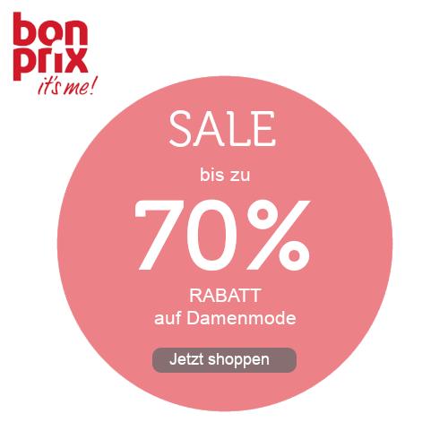 bonprix bis -70% RABATT auf Damenmode