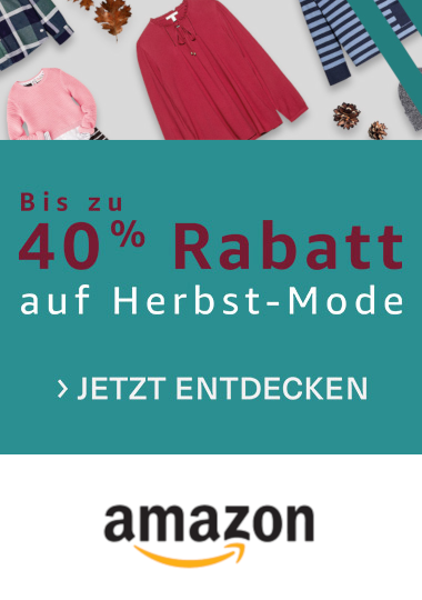 AMAZON Herbst-Mode bis -40%