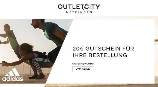 Entdecken Sie Adidas mit bis zu 30% Rabatt und erhalten Sie zusätzlich 20€ mit dem Code: LVMADI20
