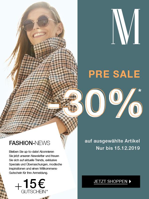 MADELEINE: Pre Sale bis -30%