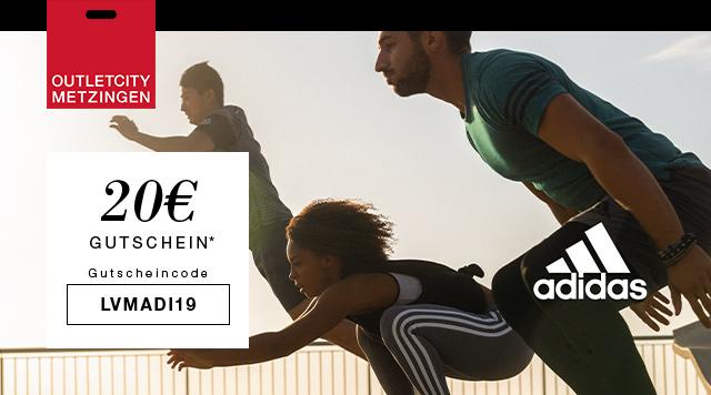 Entdecken Sie Adidas mit bis zu 30% Rabatt und erhalten Sie zusätzlich 20€ mit dem Code: LVMADI19