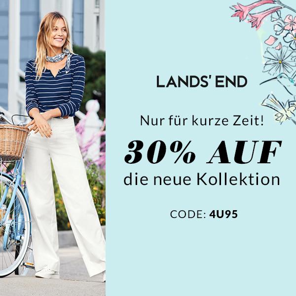 LANDS'END -30% auf neue Kollektion