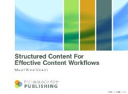 Content Structure slide