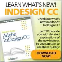 Learn What's New! InDesign CC