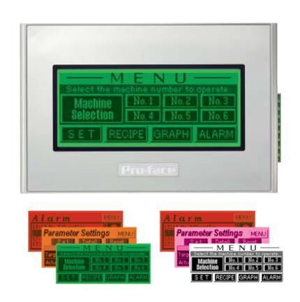 Paneles de operador compactos AGP4100