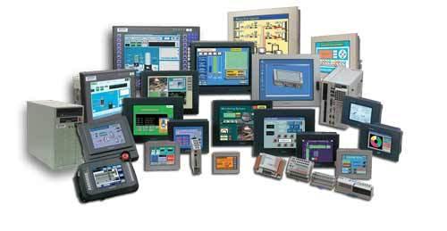 HMI Touch Screen, Computadoras industriales