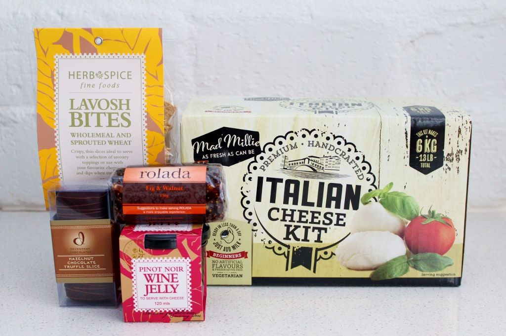 Cheese Making Set & Food Gift Basket | Hamper Gift for Dad | Father's Day | The Gift Loft (NZ)