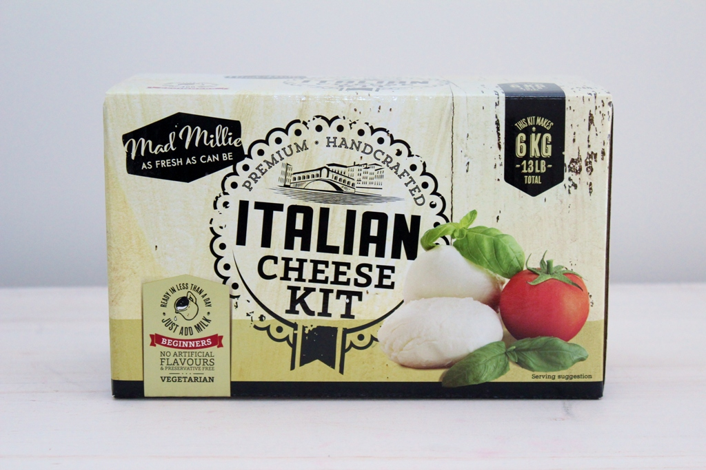 Italian Cheese Making Kit | Unique Gift for Him | The Gift Loft (NZ)