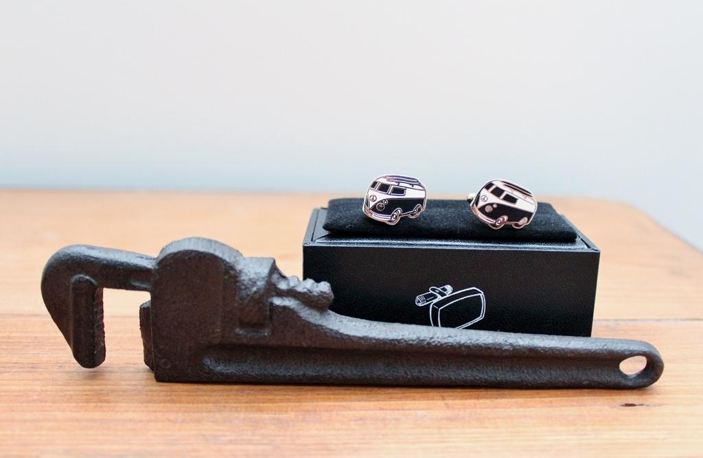 Men's Cufflinks & Bottle Opener Gift Set | Gift for Him | The Gift Loft (NZ)