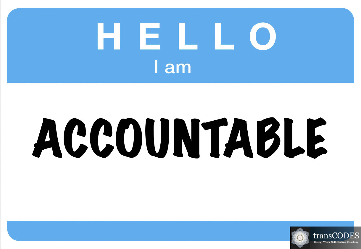 The Power of Holding Yourself Accountable
