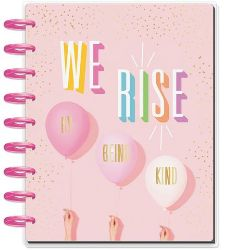 The Happy Planner that says we rise on the front