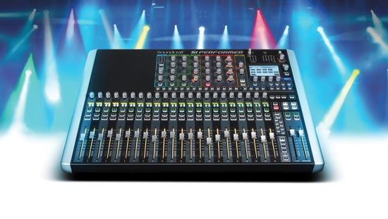 Soundcraft Si Performer 2 pluslights