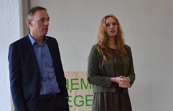 Harriët Tiemens, wethouder Nijmegen & Ron König, wethouder Arnhem