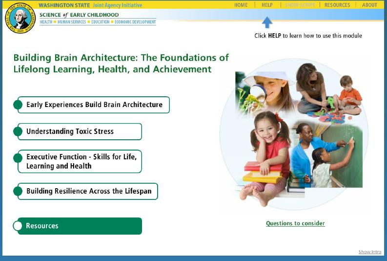 Brain Architecture Training Module