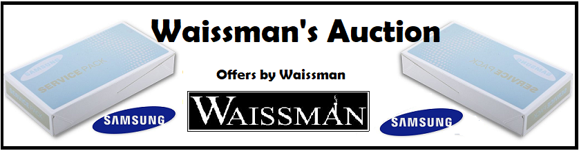 Waissman Group Auction offers on Samsung service pack
