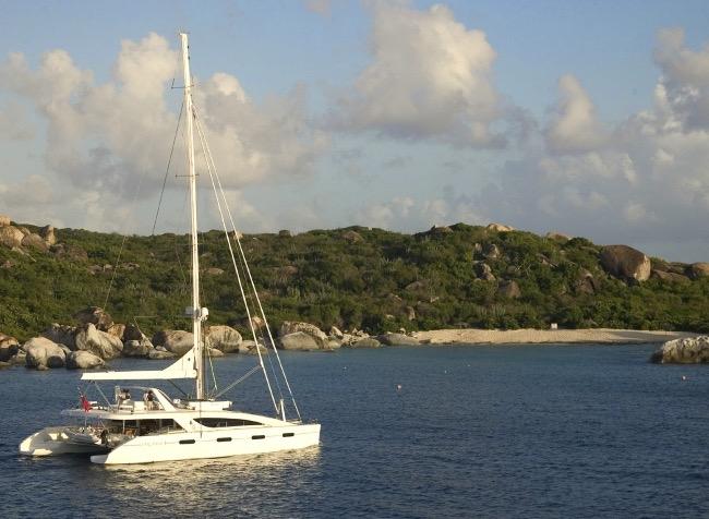 Catamaran Akasha the Matrix 76ft yacht offering 5% discount on Winter BVI Crewed Yacht Charters