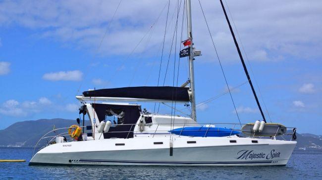 Majestic Spirit Catamaran Grenadines Crewed Yacht Charters