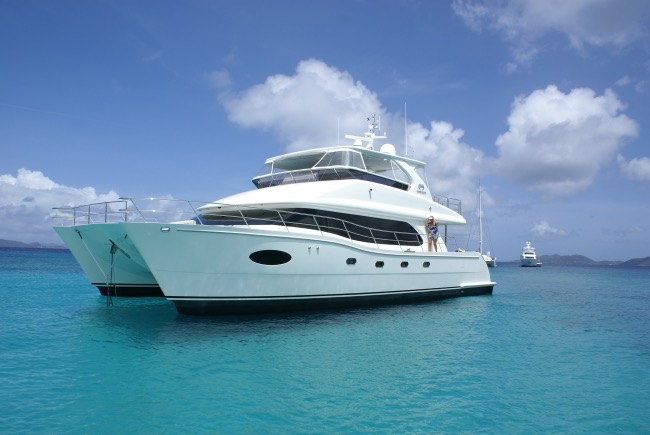 Power Catamaran La Manguita offering 10% discount on a Thanksgiving Crewed Yacht Charter in the British Virgin Islands