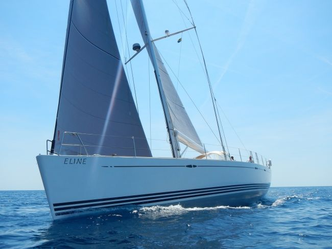 SY Eline X65 available for charter Trogir Croatia