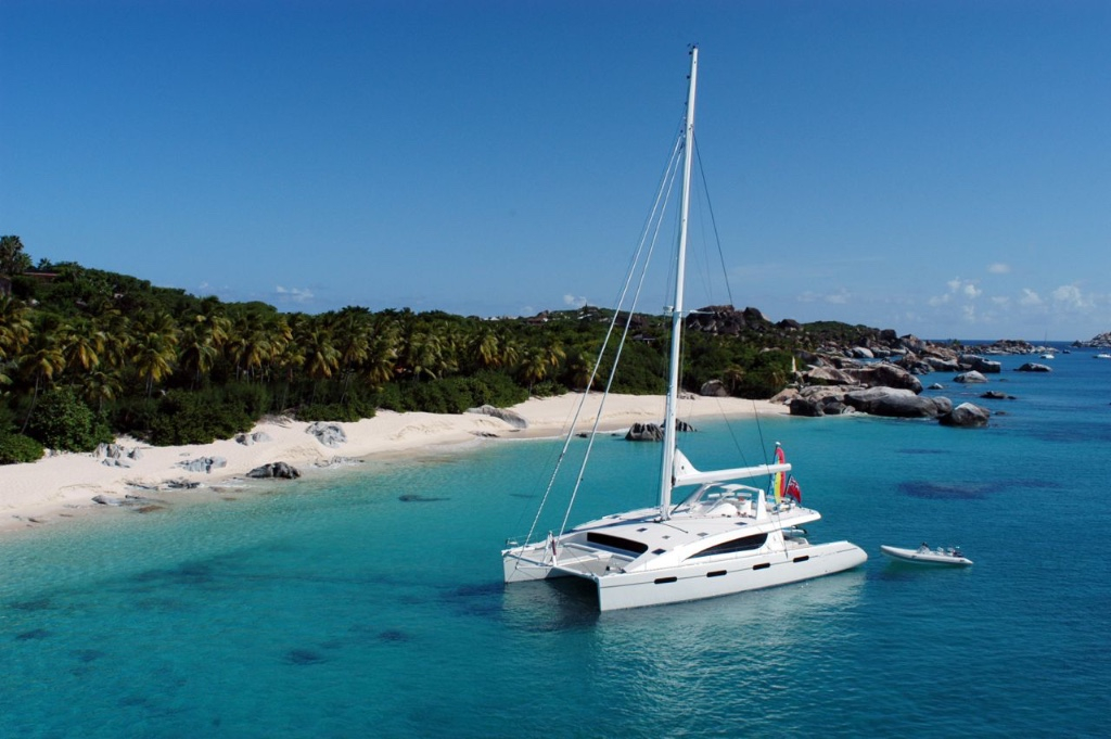 Visit The Baths on a BVI Crewed Yacht Charter