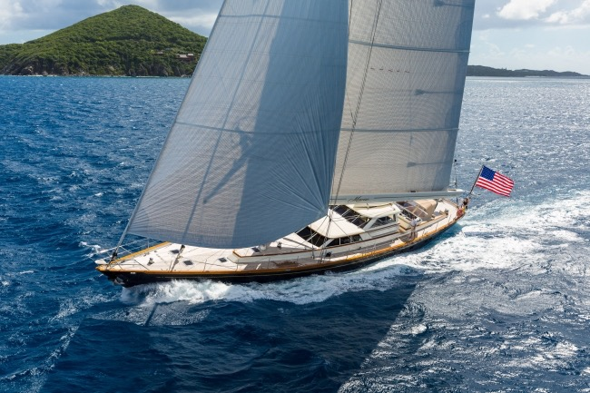 SY Marae available for the America's Cup June 2017 in Bermuda