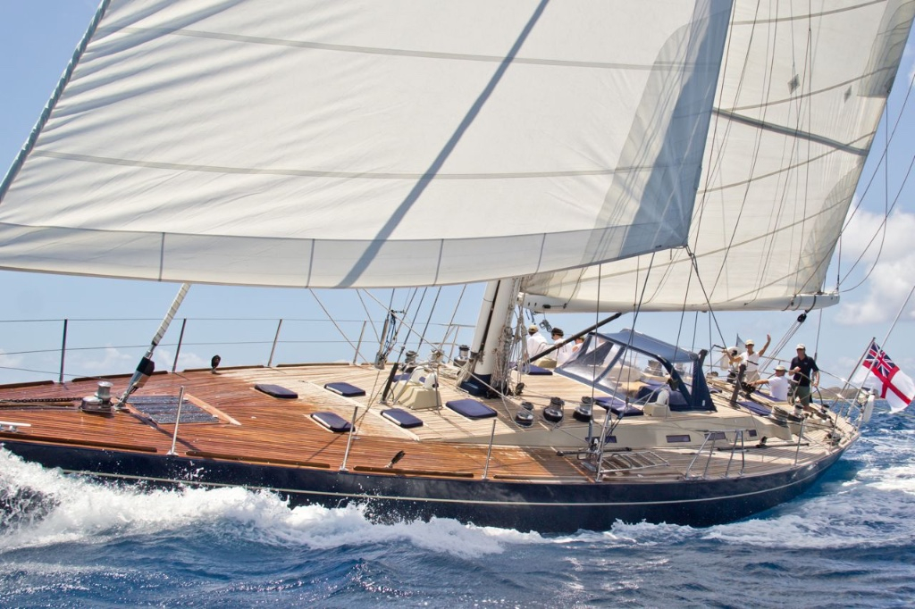 SY Pacific Wave available for Christmas week BVI Crewed Yacht Charter