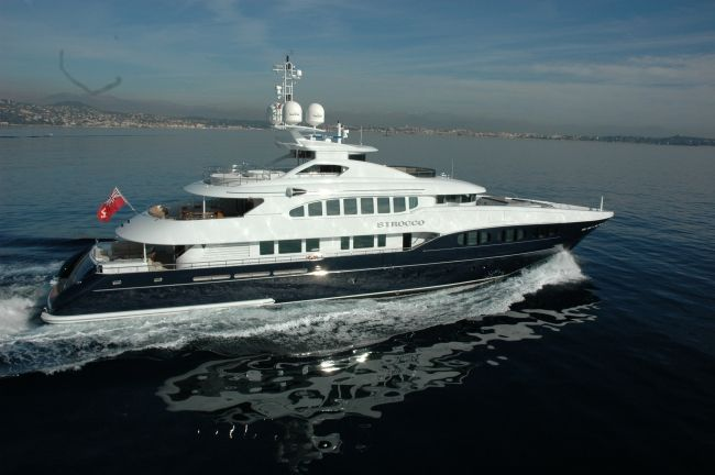 MY Sirocco available for charter in the Western Mediterranean