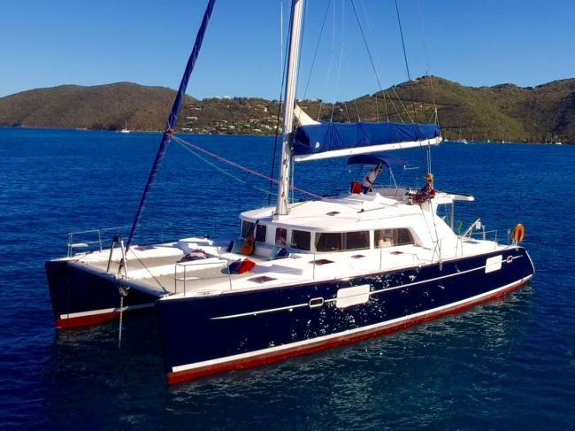 Castelina II Catamaran based in the British Virgin Islands