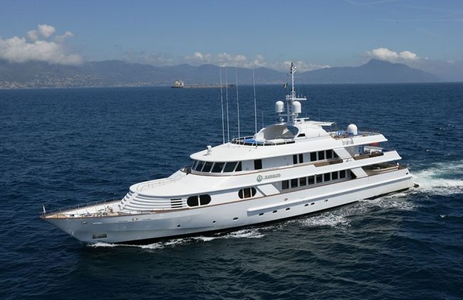 MY Kanaloa 48m CRN Motor Yacht available for Western Mediterranean Yacht Charter