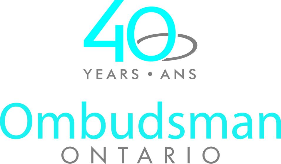 Logo du bureau de l'Ombudsman de l'Ontario